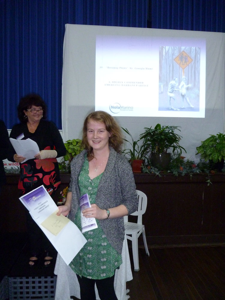 Highly Commended Emerging Dardanup Artist  - Georgia Hume
