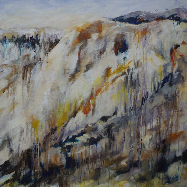 Finding my Way- Jeana Castelli Ferguson Valley Art Prize- Journey - Highly Commended DAS 2016